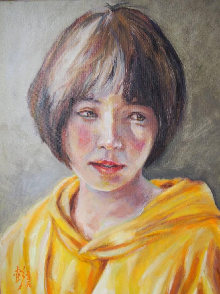 彭滂沱-穿黃衣的女孩