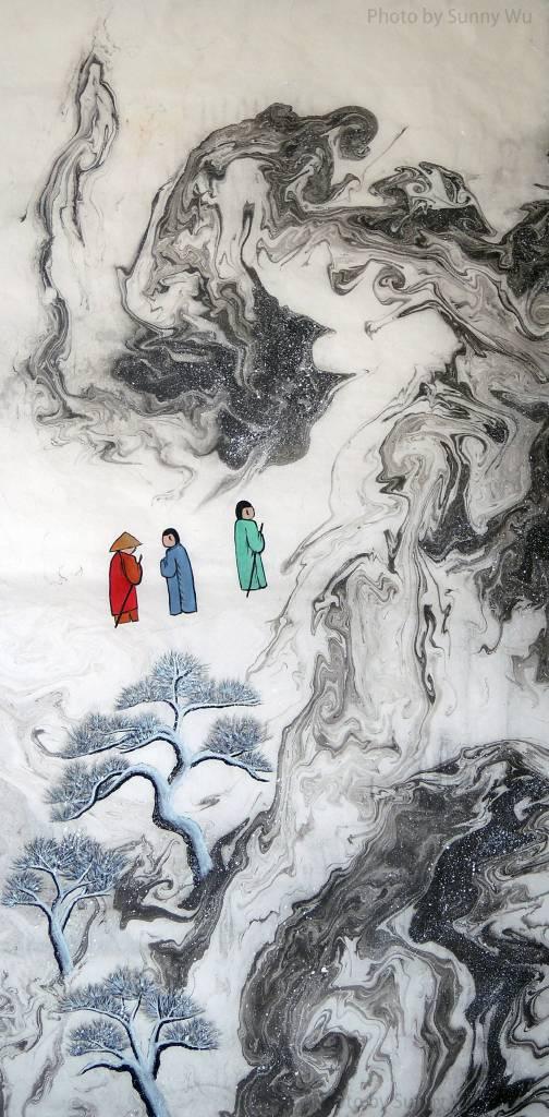 吳秀芳-   修行系列~~寒山問禪-21