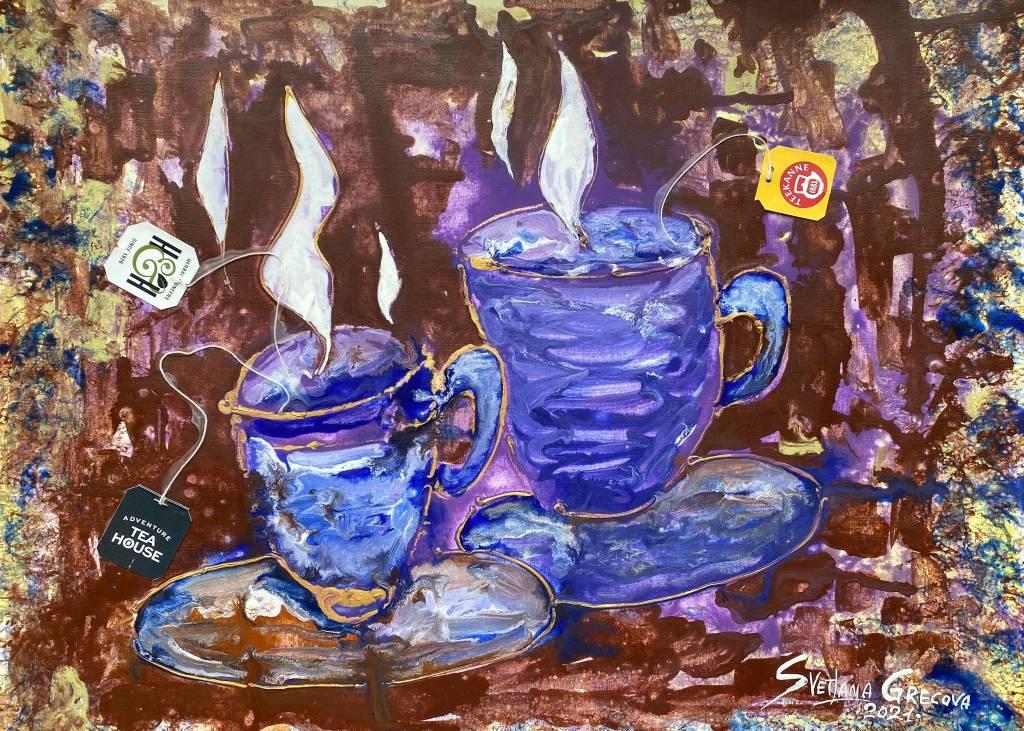 葛拉娜-Good morning in violet mood!
