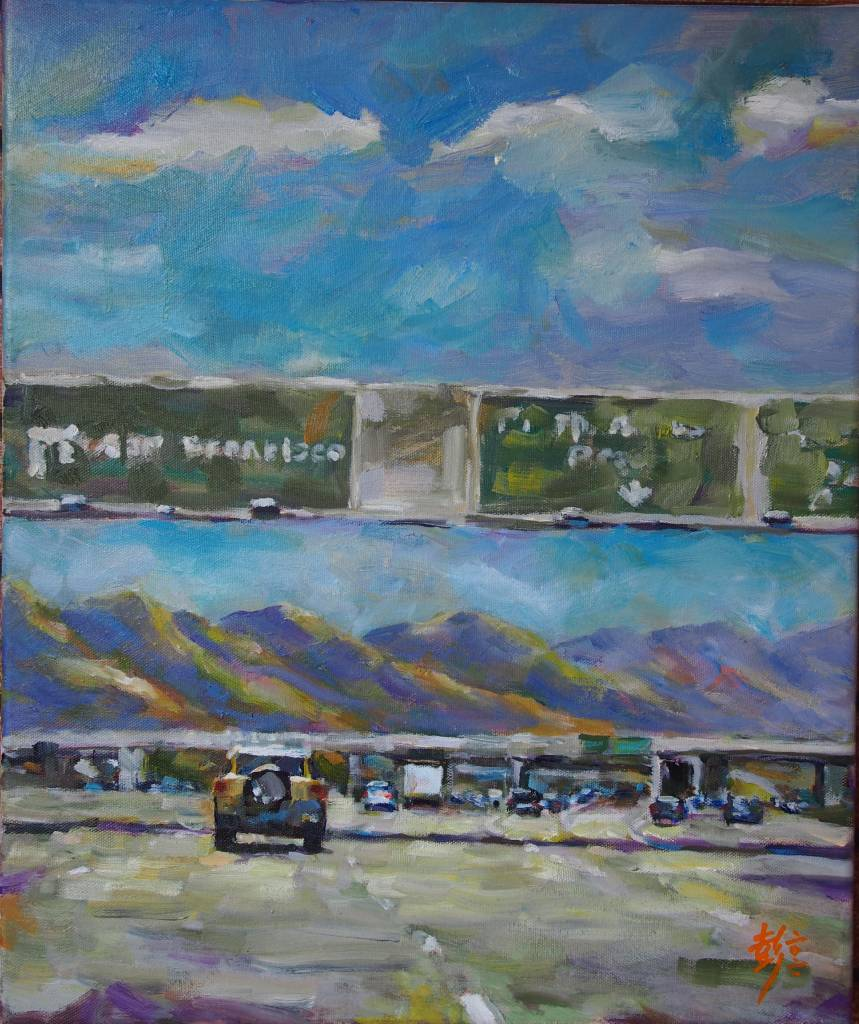 彭滂沱-往舊金山的高速公路上