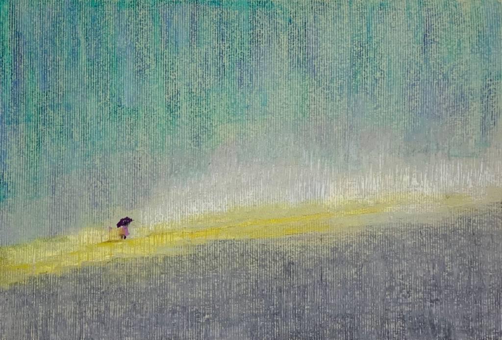 馬靜志-大雨 - 大雨滂沱,依舊走在明亮的道途上