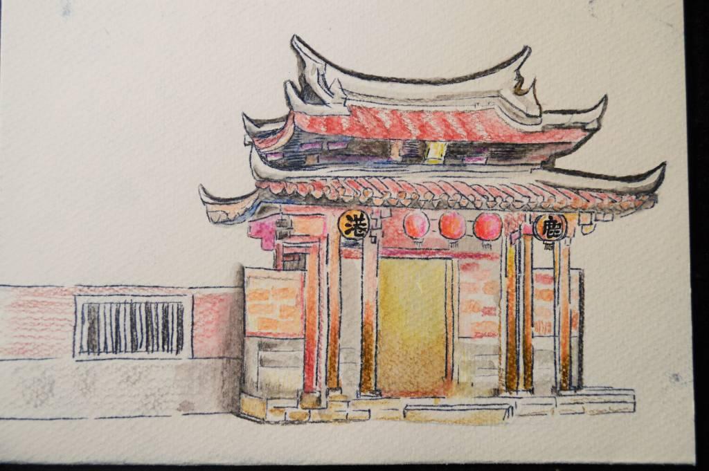 尤景正-鹿港龍山寺