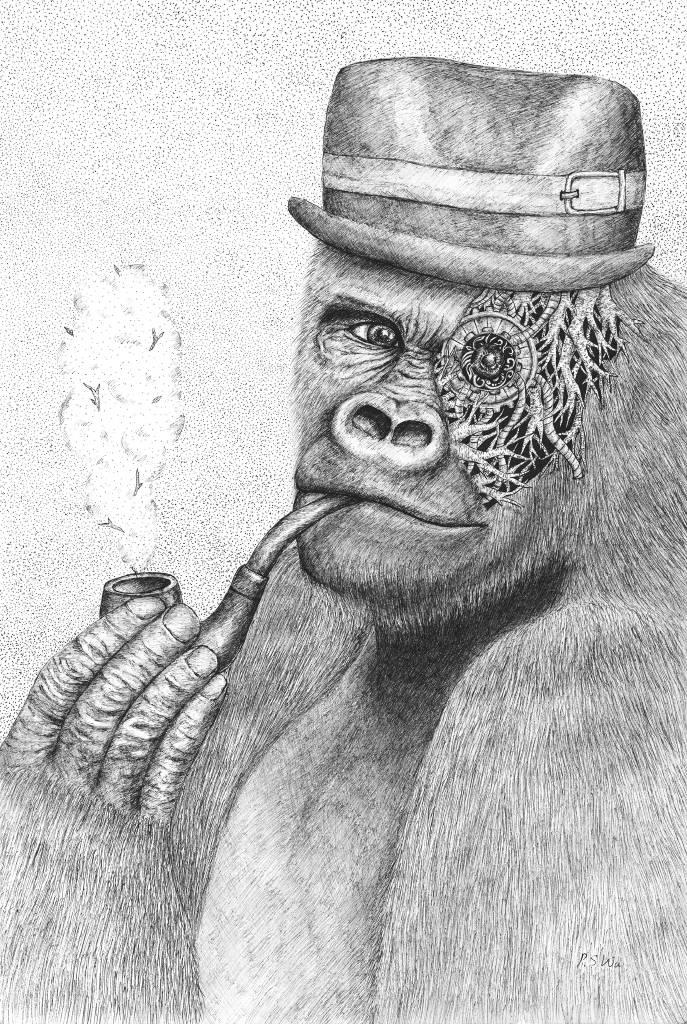 P.S Wu-人造猩猩