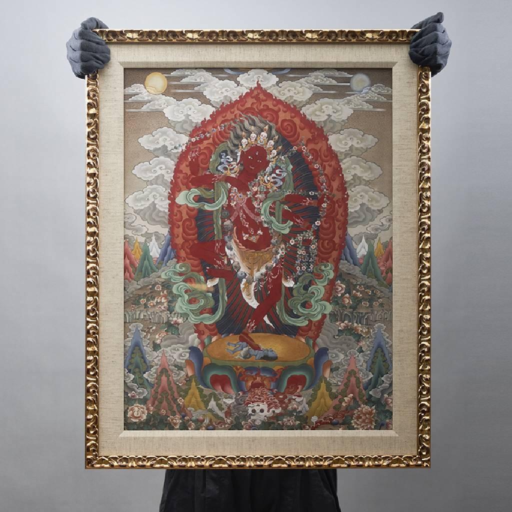 金寶‧旺楚克-Kurukulle 咕嚕咕列佛母(版畫)