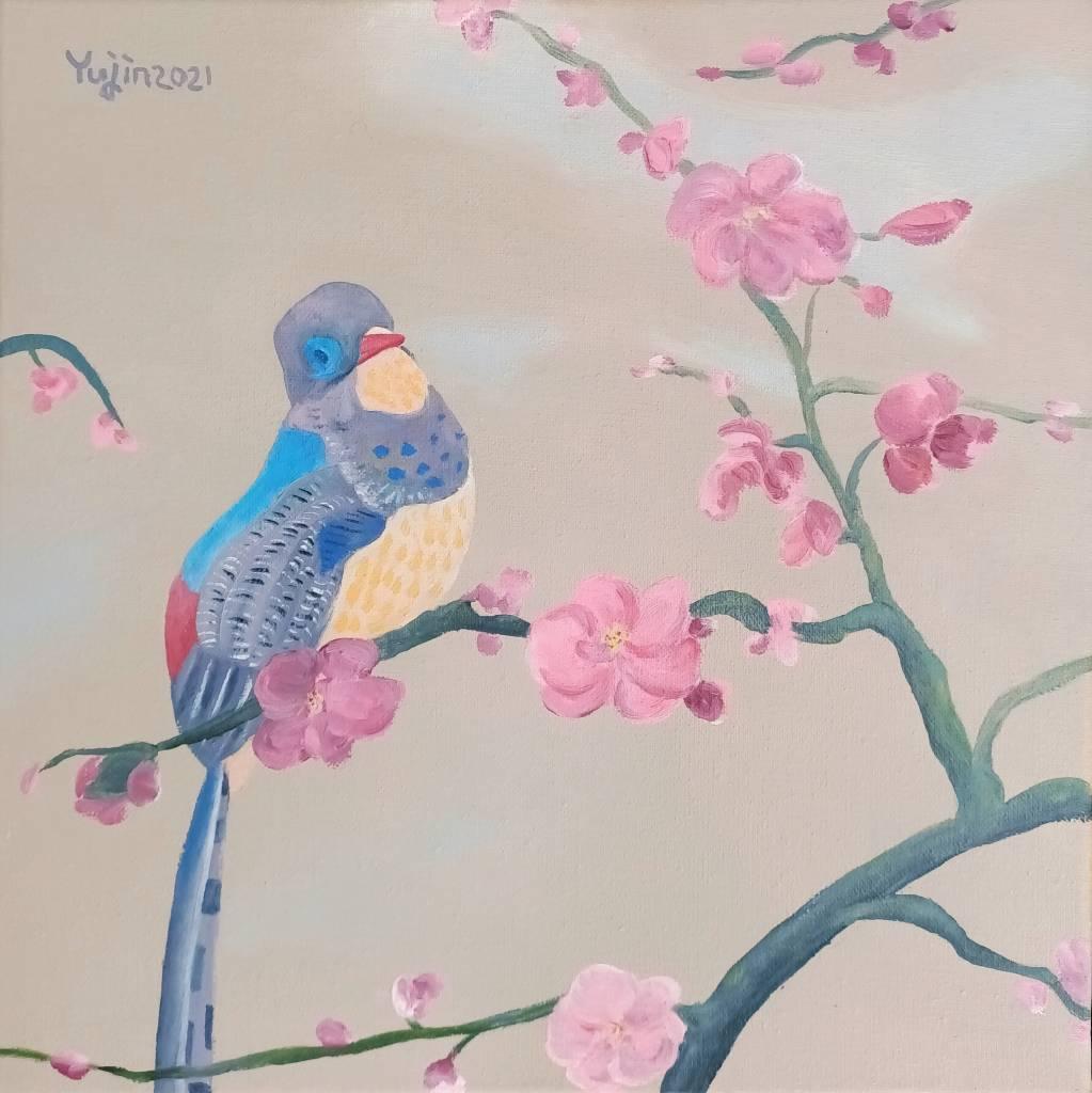 楊玉金-鳥語花香 No.3