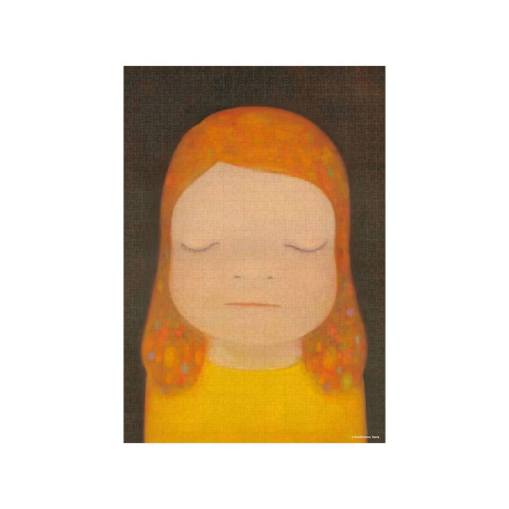 多納藝術-奈良美智拼圖 Moon Light