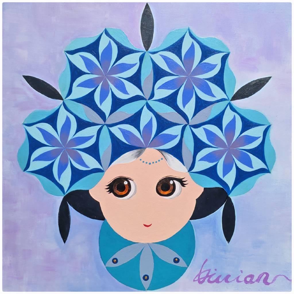 薇薇安-四季守護花神-十月-木芙蓉-美艷、早熟