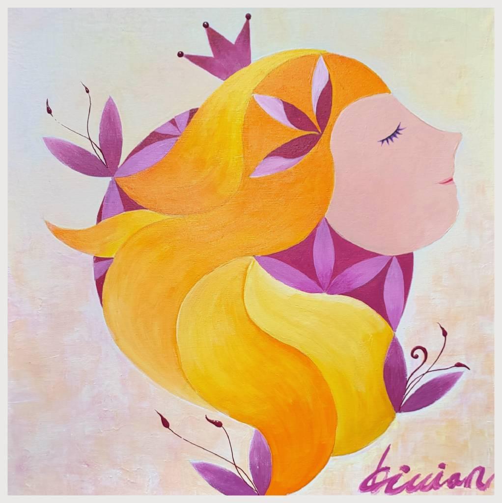 薇薇安-四季守護花神-三月-桃花-愛情的俘虜
