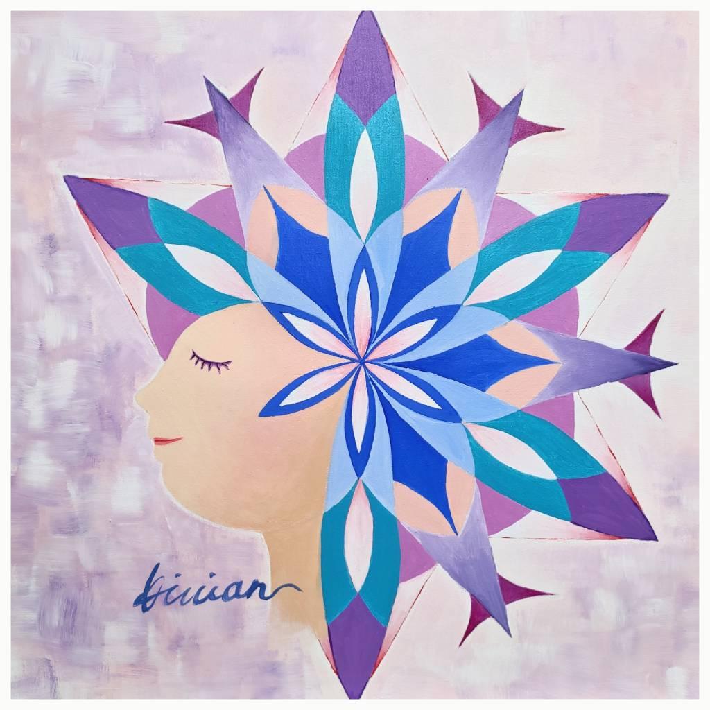 薇薇安-四季守護花神-八月-桂花-清高、優雅