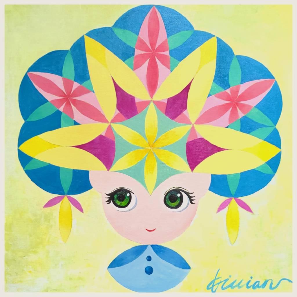 薇薇安-四季守護花神-五月-石榴花-成熟的美