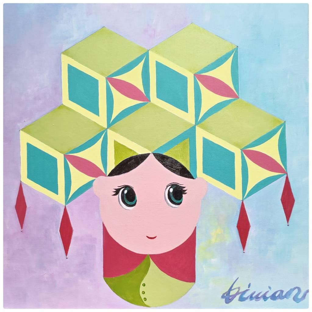 薇薇安-四季守護花神-十二月-水仙花-賢德的女子