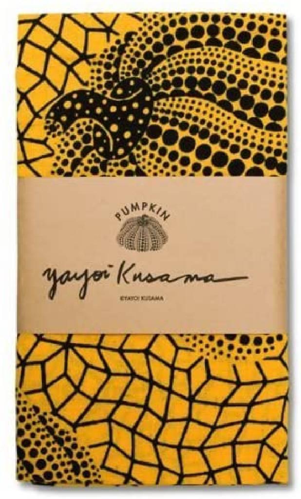多納藝術-草間彌生 經典水玉南瓜手巾 (黃) Yayoi KUSAMA Pumpkin Tenugui/Hand Towel (yello