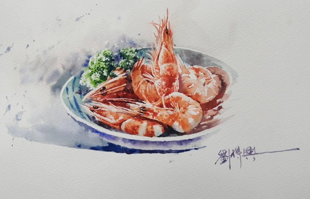 劉得興-蝦子