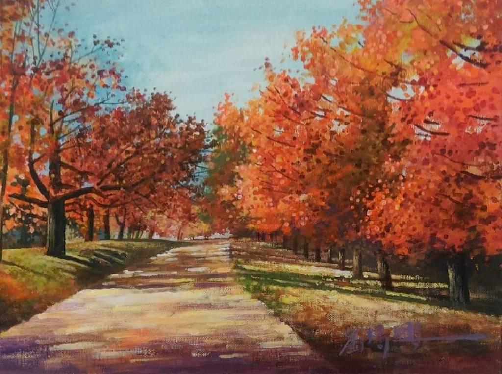 劉得興-秋天的街景