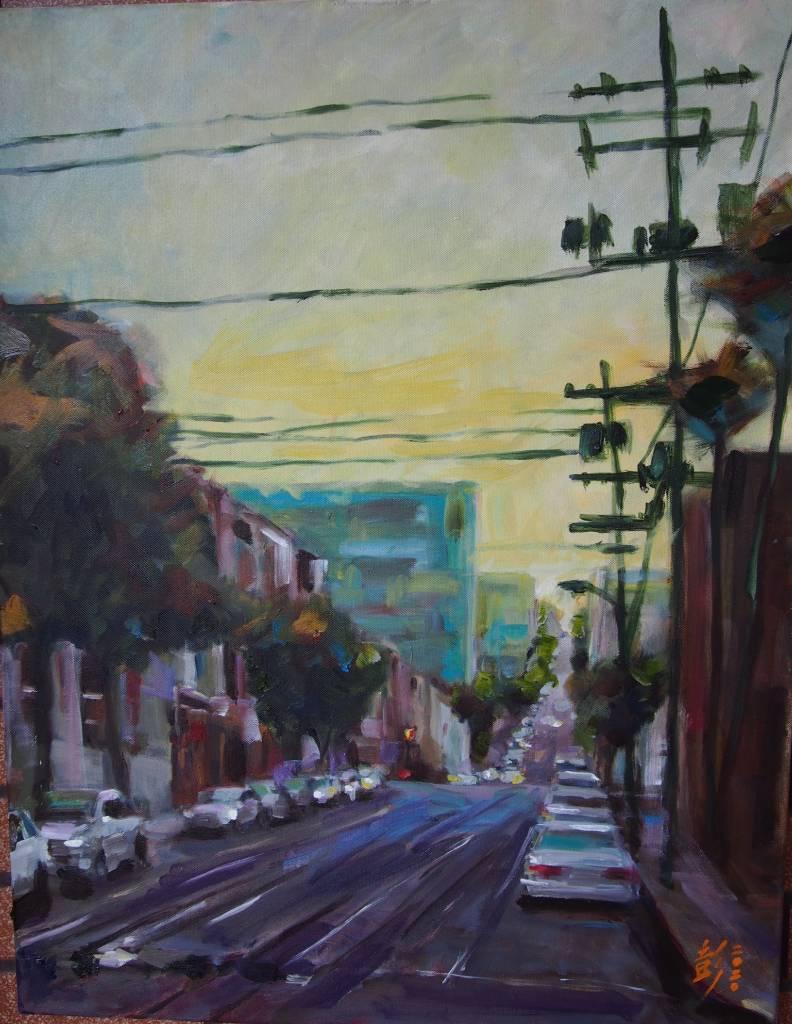 彭滂沱-舊金山街景(六)
