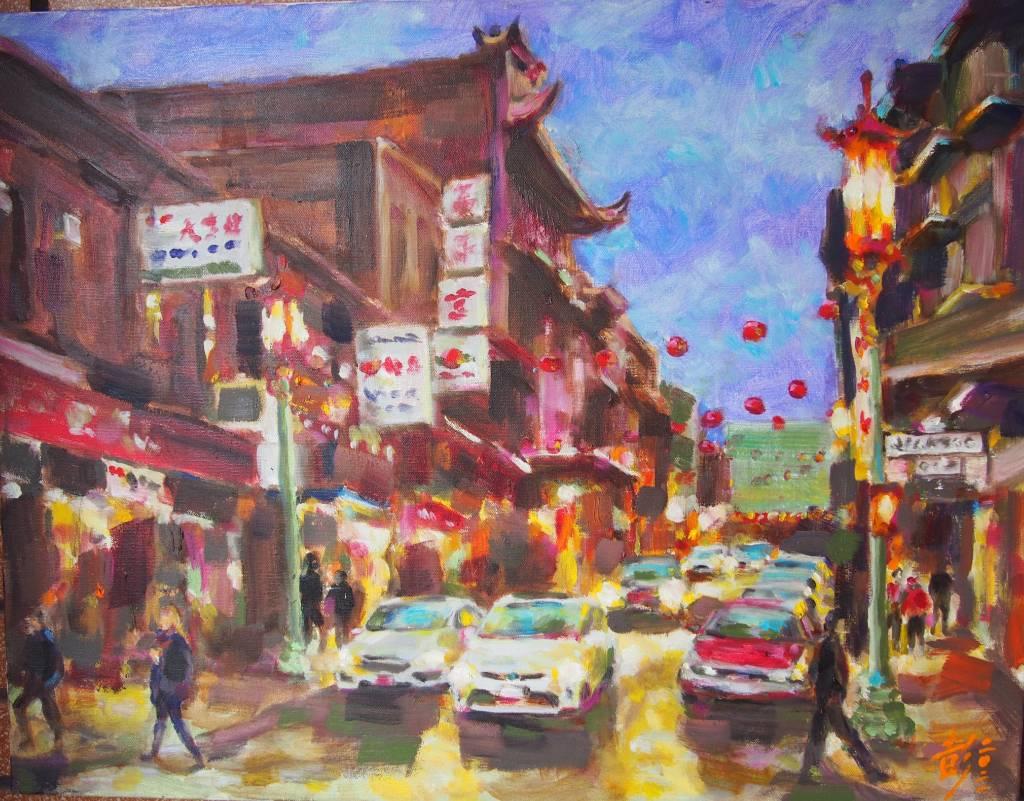 彭滂沱-舊金山中國城