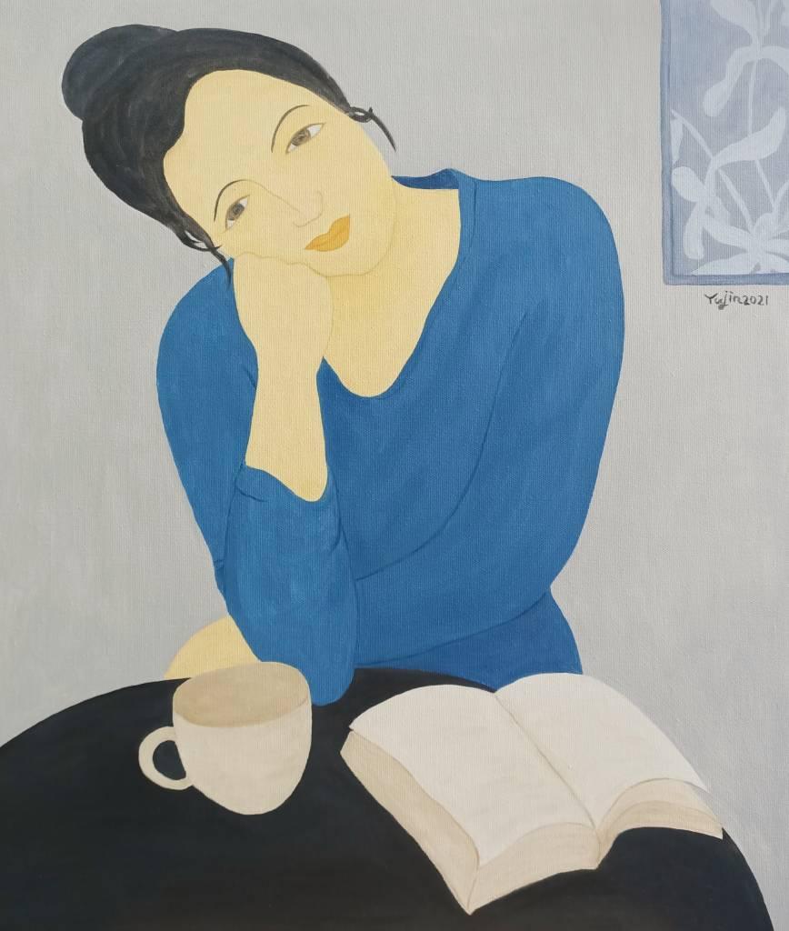 楊玉金-喜歡閱讀的女孩