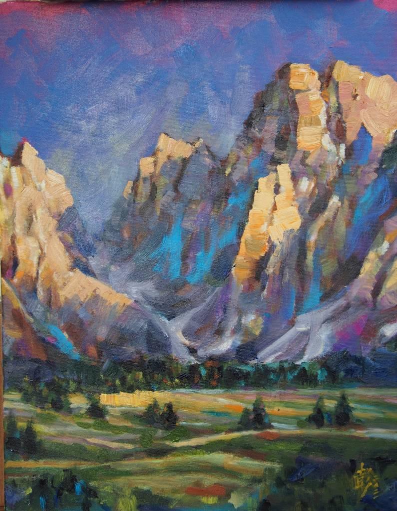 彭滂沱-阿爾卑斯山