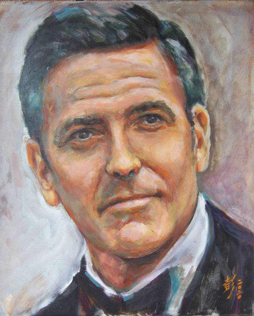 彭滂沱-George Clooney