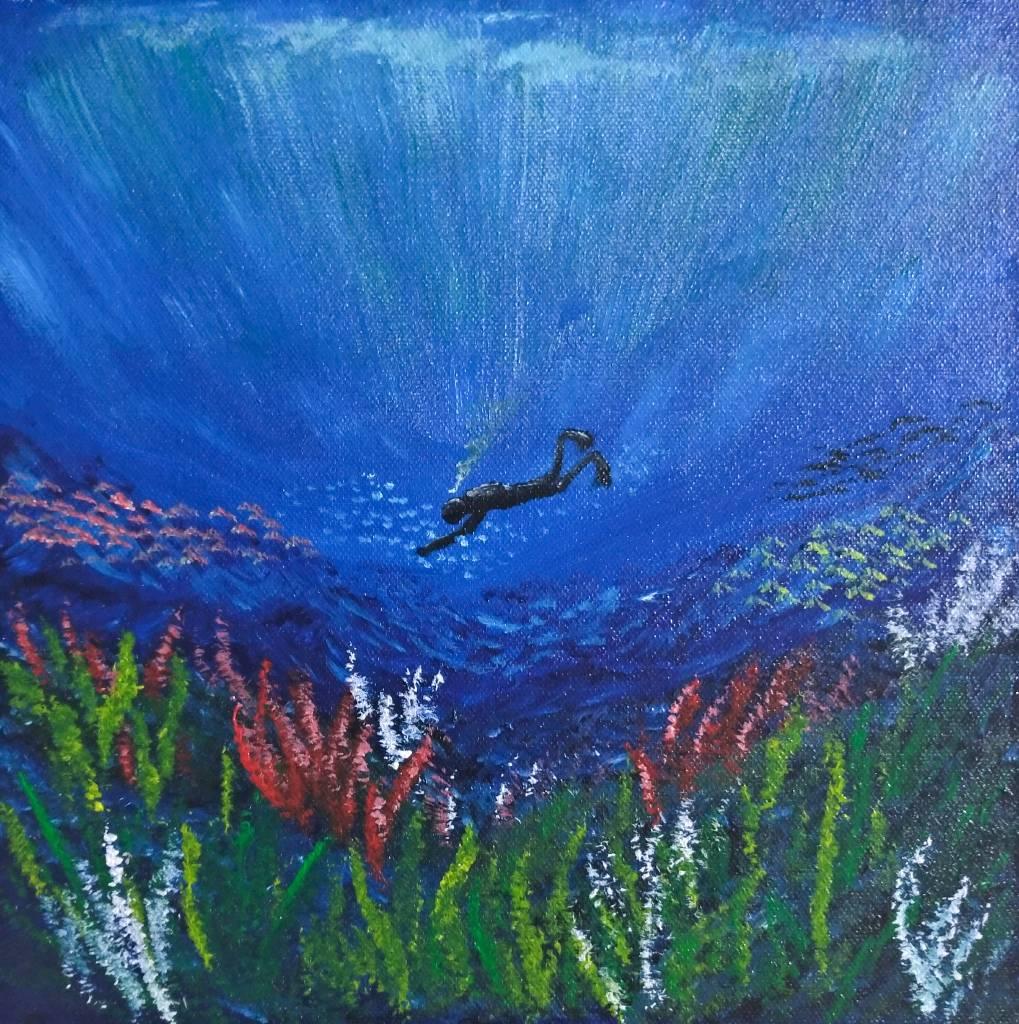 紀丹瓈-深海潛水
