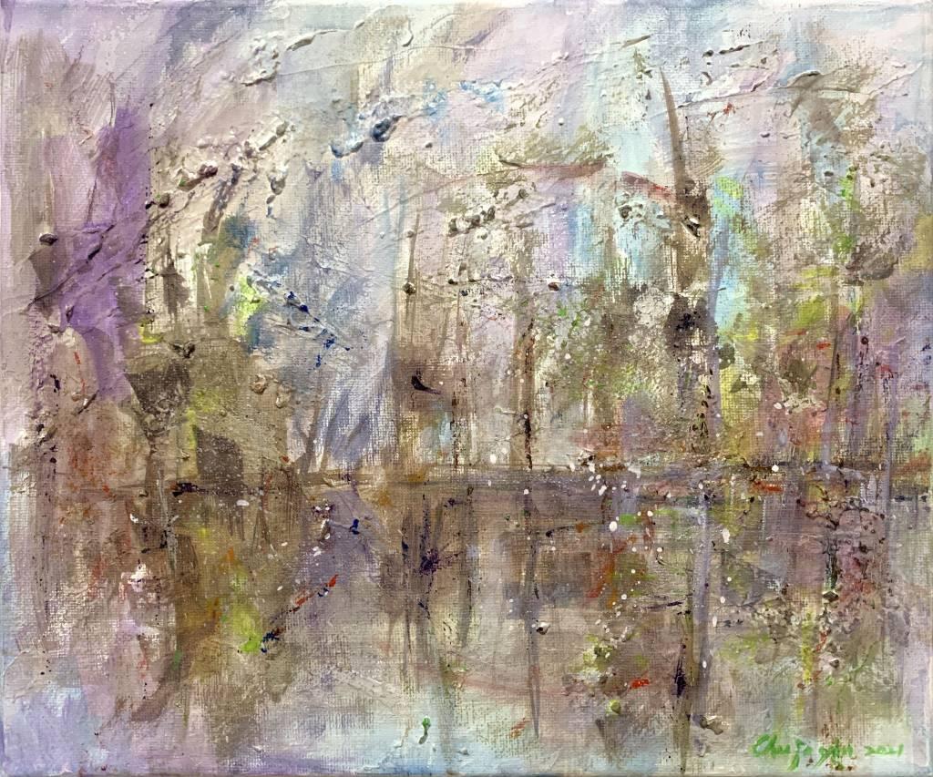 朱若茵-極光森林
