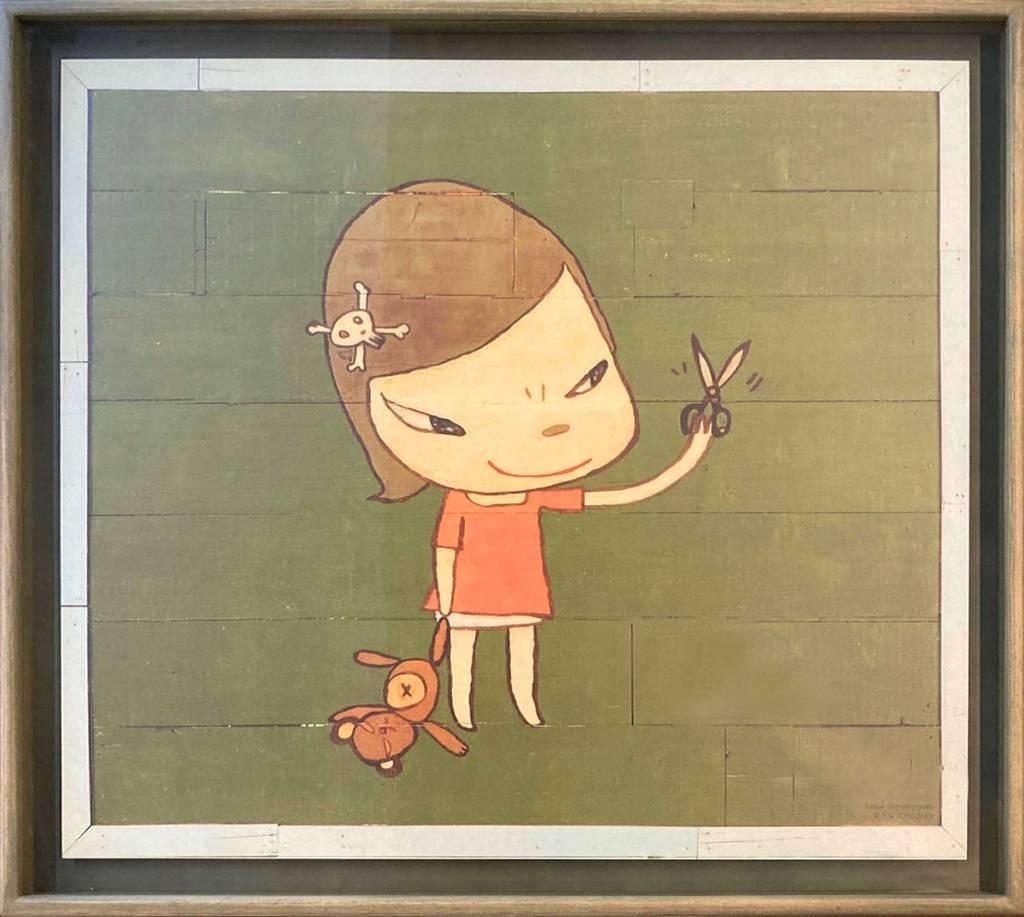 多納藝術-奈良美智 REAL ONE限量海報 (含框)