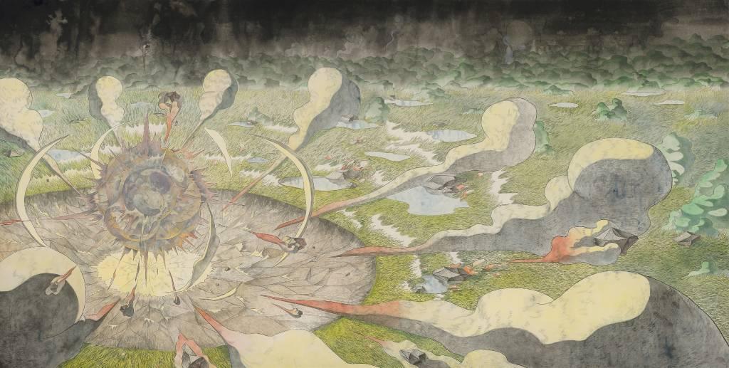 110年「璞玉發光-全國藝術行銷活動」得獎者作品線上展售-爆裂