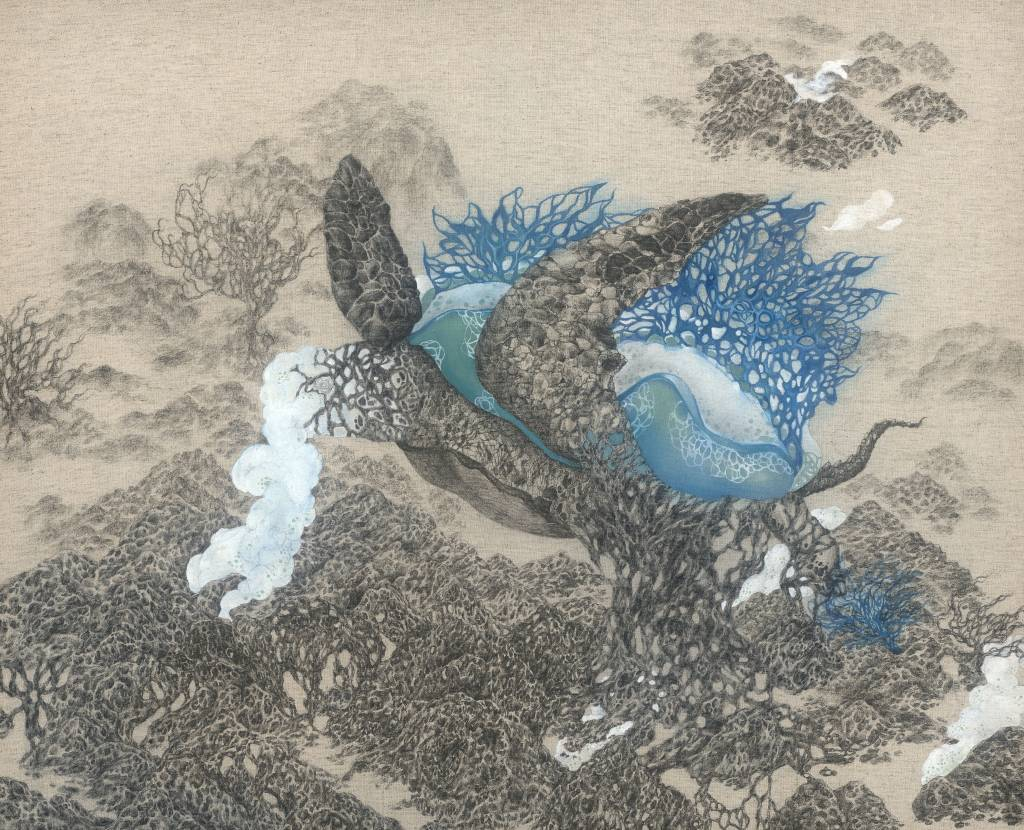 110年「璞玉發光-全國藝術行銷活動」得獎者作品線上展售-未定的棲地島-1