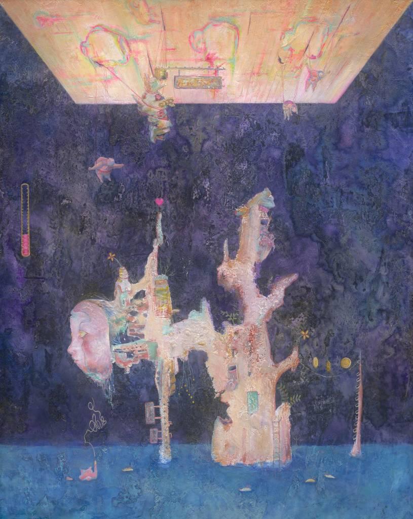 110年「璞玉發光-全國藝術行銷活動」得獎者作品線上展售-我們一起變成沒有用的樣子了-II