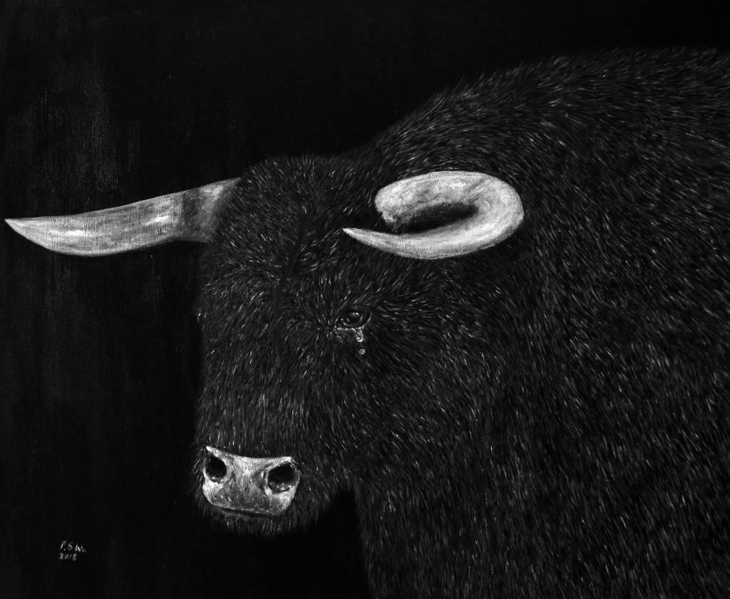 P.S Wu-哭泣的公牛 Crying Bull
