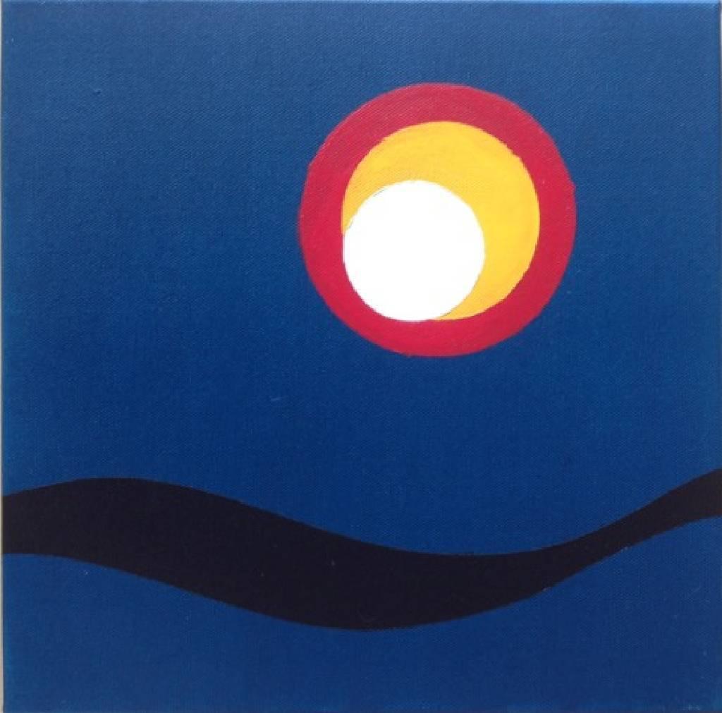 方玉-水月