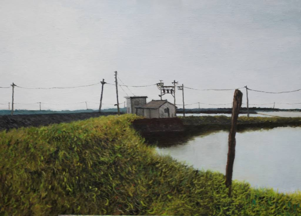 陳治宇-魚塭旁的小屋