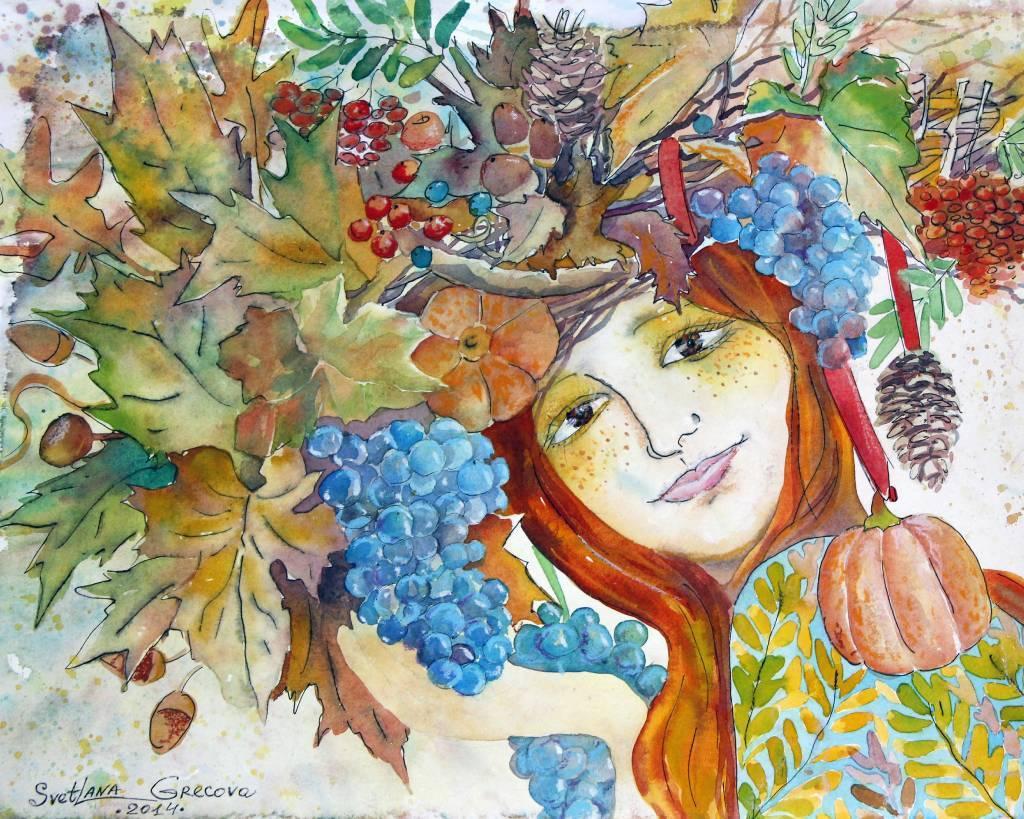 葛拉娜-Fruitfulness of autumn