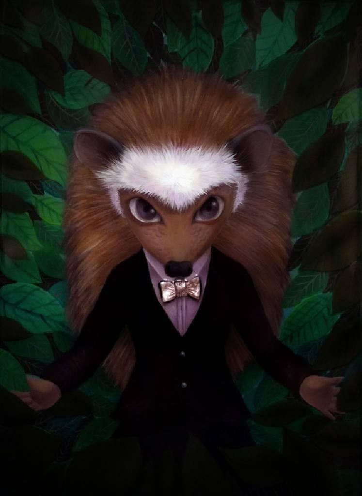 鄧子健 -Mr. Hedgehog 刺蝟先生