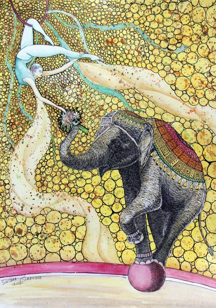 葛拉娜-Circus fantasy